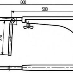 Suport montare, oglinda retrovizoare exterioara CASE IH CS 48, 48A - HELLA 8HG 501 257-002