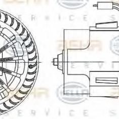 Ventilator, habitaclu VAUXHALL MERIVA Mk I 1.6 i - HELLA 8EW 009 157-521 - Motor Ventilator Incalzire