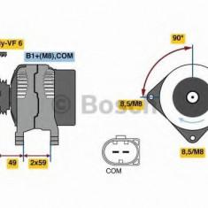Generator / Alternator SKODA YETI 1.6 TDI - BOSCH 0 986 081 160 - Alternator auto