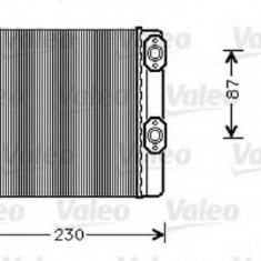 Schimbator caldura, incalzire habitaclu MERCEDES-BENZ LP LP 608, LPL 608 - VALEO 812348 - Sistem Incalzire Auto