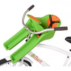 Scaun De Bicicleta Safe-T-Seat Verde Ibert - Accesoriu Bicicleta