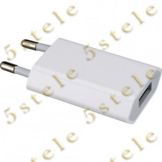 Adaptor priza USB Apple A1400 1.0mAh Original