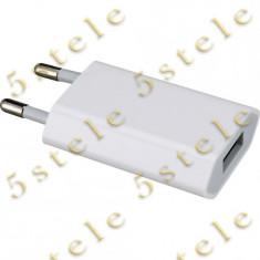 Adaptor priza USB Apple A1400 1.0mAh Original - Adaptor incarcator