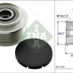 Sistem roata libera, generator AUDI A6 2.8 FSI - INA 535 0250 10 - Fulie