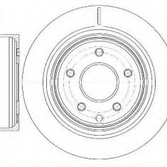 Disc frana NISSAN LEAF Electric - ROADHOUSE 6998.10, Trw