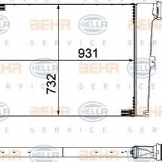 Intercooler, compresor MAN TGA 18.430, 18.440 FC, FLC, FLLC, FLLRC, FLLRW, FLLW, FLRC - HELLA 8ML 376 755-451 - Intercooler turbo