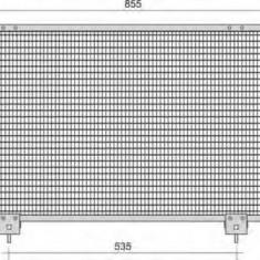 Condensator, climatizare TOYOTA RAV 4 Mk II 1.8 VVTi - MAGNETI MARELLI 350203388000 - Radiator aer conditionat