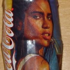Sticla Coca Cola 330 ml de colectie, Bruneta (nedesfacut)