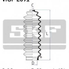 Ansamblu burduf, directie HONDA CIVIC III Hatchback 1.2 - SKF VKJP 2091