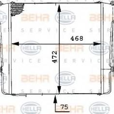 Intercooler, compresor - HELLA 8ML 376 724-151 - Intercooler turbo