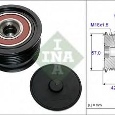 Sistem roata libera, generator OPEL ASTRA G hatchback 2.0 OPC - INA 535 0190 10 - Fulie