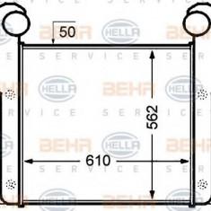 Intercooler, compresor DAF 95 FA 95.330 - HELLA 8ML 376 776-681 - Intercooler turbo