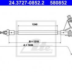 Cablu, frana de parcare PEUGEOT 406 limuzina 1.6 - ATE 24.3727-0852.2