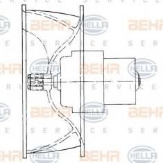 Ventilator, habitaclu - HELLA 8EW 009 160-411 - Motor Ventilator Incalzire