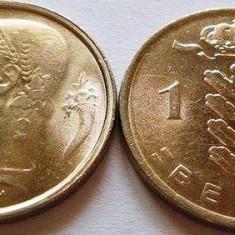 Moneda 1 Franc - BELGIA, anul 1975 *cod 1324 UNC, Europa