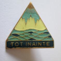 INSIGNA PIONIER TURISM TOT INAINTE
