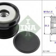 Sistem roata libera, generator FORD C-MAX II 1.6 EcoBoost - INA 535 0252 10 - Fulie