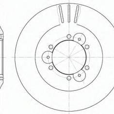 Disc frana OPEL FRONTERA A 2.3 TD - ROADHOUSE 6560.10 - Discuri frana Trw