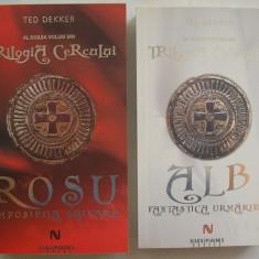 Ted Dekker - Trilogia Cercului ( volumul 2 + 3, ALB si ROSU ) - Roman, Anul publicarii: 2010