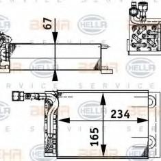 Evaporator, aer conditionat PORSCHE 911 Cabriolet 3.1 SC Carrera - HELLA 8FV 351 211-221