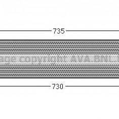 Intercooler, compresor FORD GRAND C-MAX 2.0 TDCi - AVA QUALITY COOLING FD4438 - Intercooler turbo