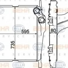 Intercooler, compresor MERCEDES-BENZ NG 1933 - BEHR HELLA SERVICE 8ML 376 758-161 - Intercooler turbo