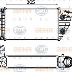 Intercooler, compresor PORSCHE 911 3.6 GT2 - BEHR HELLA SERVICE 8ML 376 765-211 - Intercooler turbo