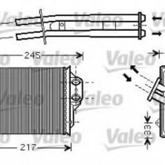 Schimbator caldura, incalzire habitaclu FIAT PANDA Van 1.2 - VALEO 812336 - Sistem Incalzire Auto