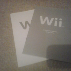 Manuale Consola Wii