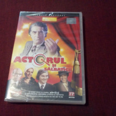 FILM DVD ACTORUL SI SALBATICII - Film comedie, Romana