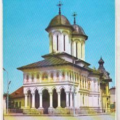 Bnk cp Targu Jiu - Biserica Sfintii Voievozi- necirculata - Carte Postala Oltenia dupa 1918, Printata