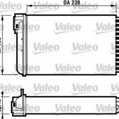 Schimbator caldura, incalzire habitaclu OPEL OMEGA A 2.0 - VALEO 812110 - Sistem Incalzire Auto