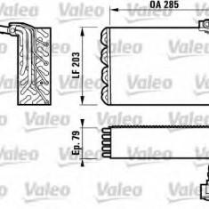 Evaporator, aer conditionat PEUGEOT 406 limuzina 1.9 TD - VALEO 817095