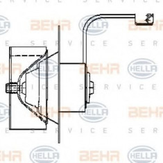 Ventilator, habitaclu MERCEDES-BENZ O 303 O 303 - HELLA 8EW 009 160-511 - Motor Ventilator Incalzire