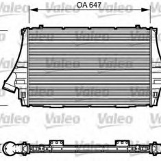 Intercooler, compresor SAAB 9-3 combi 2.8 Turbo V6 - VALEO 817998 - Intercooler turbo