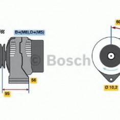 Generator / Alternator PEUGEOT 206 hatchback 1.6 i - BOSCH 0 986 038 730 - Alternator auto