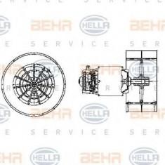 Ventilator, habitaclu BMW 7 limuzina 750 i, iL V12 - HELLA 8EW 009 158-631 - Motor Ventilator Incalzire