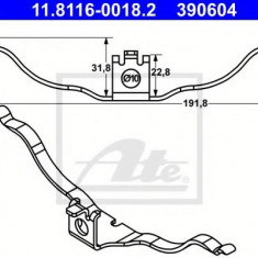 Arc, etrier frana AUDI A8 FSI W12 - ATE 11.8116-0018.2 - Arc - Piston - Garnitura Etrier