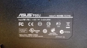 Dezmembrez Asus P50IJ-placa de baza,display,tastatura,incarcator-k50 series