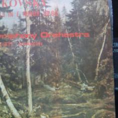 (M) DISC VINIL - CEAICOVSKY/SIMFONIA 5 IN MI MINOR - Muzica Opera electrecord