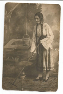 @ foto de epoca-COSTUM POPULAR anul 1926 foto