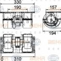 Ventilator, habitaclu VOLVO FL 7 FL 7/290 - HELLA 8EW 009 160-761 - Motor Ventilator Incalzire
