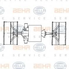 Ventilator, habitaclu VOLVO FL 6 FL 608 - HELLA 8EW 009 160-591 - Motor Ventilator Incalzire
