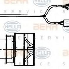 Ventilator, habitaclu MERCEDES-BENZ O 303 O 303 - HELLA 8EW 009 157-361 - Motor Ventilator Incalzire