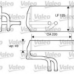 Schimbator caldura, incalzire habitaclu ROVER 600 620 i - VALEO 812070 - Sistem Incalzire Auto
