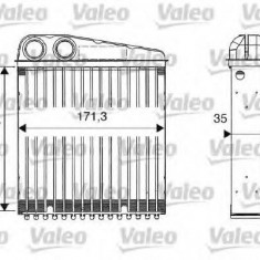 Schimbator caldura, incalzire habitaclu NISSAN MARCH III 1.2 16V - VALEO 812250 - Sistem Incalzire Auto