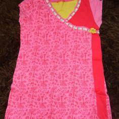 Rochita, rochie de joaca fetite, marimea 6-8 ani, 122-128 cm, marca Hema, Marime: 30, Culoare: Roz