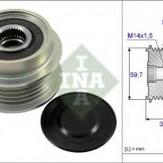 Sistem roata libera, generator TOYOTA VITZ 1.4 D-4D - INA 535 0199 10 - Fulie