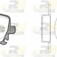 Set frana, frana disc SEAT LEON 1.6 TDI - ROADHOUSE 81031.01 - Kit frane auto Trw