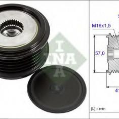 Sistem roata libera, generator HYUNDAI ix20 1.4 CRDi - INA 535 0248 10 - Fulie